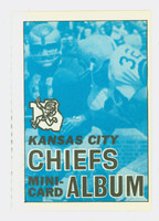 1969 Topps Football 4-1 Booklets 22 Kansas City Chiefs Excellent to Mint