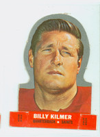 1968 Topps Football Stand Up 12 Billy Kilmer Washington Redskins Punched