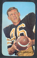 1970 Topps Football Supers 19 Dan Abramowicz New Orleans Saints Near-Mint to Mint