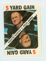 1971 Topps Football Game 9 Tommy Nobis Atlanta Falcons Very Good to Excellent
