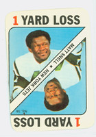 1971 Topps Football Game 38 Matt Snell New York Jets Very Good to Excellent