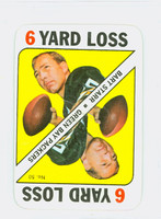 1971 Topps Football Game 50 Bart Starr Green Bay Packers Excellent to Mint