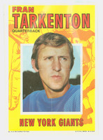1971 Topps Football Pin-Ups 5 Fran Tarkenton New York Giants Near-Mint