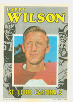 1971 Topps Football Pin-Ups 20 Larry Wilson St. Louis Cardinals Very Good to Excellent