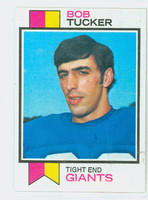 1973 Topps Football 80 Bob Tucker New York Giants Near-Mint