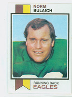 1973 Topps Football 111 Norm Bulaich Philadelphia Eagles Near-Mint