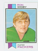 1973 Topps Football 162 Ron Widby Green Bay Packers Excellent to Mint