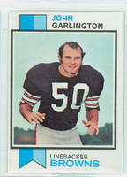 1973 Topps Football 311 John Garlington Cleveland Browns Excellent to Mint