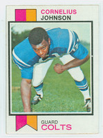 1973 Topps Football 314 Cornelius Johnson Baltimore Colts Excellent