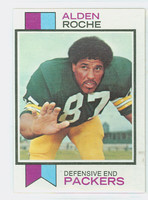 1973 Topps Football 318 Alden Roche Green Bay Packers Excellent