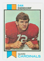 1973 Topps Football 322 Dan Dierdorf ROOKIE St. Louis Cardinals Excellent to Mint