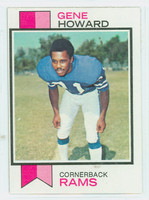 1973 Topps Football 324 Gene Howard Los Angeles Rams Excellent