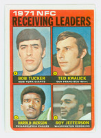 1972 Topps Football 6 NFC Receiving leaders Excellent