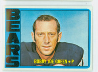 1972 Topps Football 11 Bobby Joe Green Chicago Bears Excellent to Excellent Plus