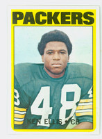 1972 Topps Football 12 Ken Ellis Green Bay Packers Near-Mint