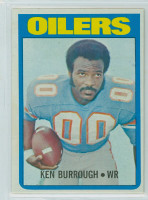 1972 Topps Football 26 Ken Burroughs ROOKIE Houston Oilers Excellent to Mint