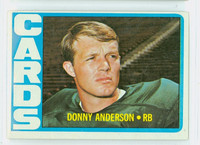 1972 Topps Football 32 Donny Anderson St. Louis Cardinals Excellent to Excellent Plus