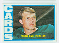 1972 Topps Football 32 Donny Anderson St. Louis Cardinals Excellent to Mint