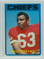 1972 Topps Football 35 Willie Lanier Kansas City Chiefs Excellent to Excellent Plus