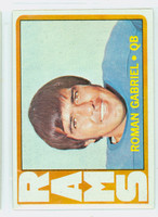 1972 Topps Football 40 Roman Gabriel Los Angeles Rams Very Good to Excellent