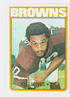 1972 Topps Football 46 Joe Jones Cleveland Browns Excellent