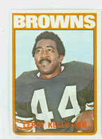 1972 Topps Football 70 Leroy Kelly Cleveland Browns Near-Mint