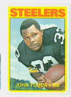1972 Topps Football 77 John Fuqua Pittsburgh Steelers Near-Mint