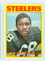 1972 Topps Football 101 LC Greenwood ROOKIE Pittsburgh Steelers Excellent
