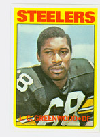1972 Topps Football 101 LC Greenwood ROOKIE Pittsburgh Steelers Near-Mint