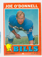 1971 Topps Football 4 Joe O' Donnell Buffalo Bills Excellent to Mint