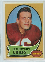 1970 Topps Football 1 Len Dawson Kansas City Chiefs Excellent to Mint