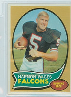 1970 Topps Football 5 Harmon Wages Atlanta Falcons Near-Mint to Mint
