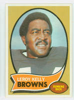 1970 Topps Football 20 Leroy Kelly Cleveland Browns Excellent to Excellent Plus