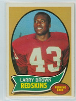 1970 Topps Football 24 Larry Brown ROOKIE Washington Redskins Excellent to Mint