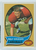 1970 Topps Football 26 Rolf Krueger St. Louis Cardinals Near-Mint to Mint