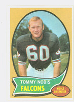 1970 Topps Football 40 Tommy Nobis Atlanta Falcons Excellent to Mint