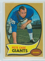 1970 Topps Football 41 Pete Case New York Giants Near-Mint