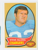 1970 Topps Football 49 Steve DeLong San Diego Chargers Excellent to Mint