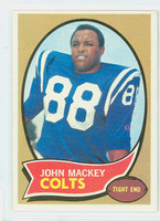 1970 Topps Football 62 John Mackey Baltimore Colts Excellent to Excellent Plus