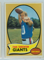 1970 Topps Football 80 Fran Tarkenton New York Giants Near-Mint