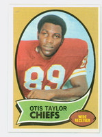 1970 Topps Football 103 Otis Taylor Kansas City Chiefs Excellent to Mint