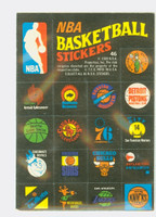 1971 Topps Basketball Trios NBA 46 - NBA Logos Near-Mint