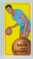 1970 Topps Basketball 54 Jim Davis Atlanta Hawks Near-Mint