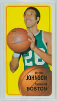 1970 Topps Basketball 102 Rich Johnson Boston Celtics Excellent to Excellent Plus