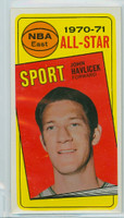 1970 Topps Basketball 112 John Havlicek AS Boston Celtics Very Good to Excellent