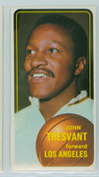 1970 Topps Basketball 126 John Tresvant Los Angeles Lakers Near-Mint Plus