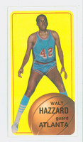 1970 Topps Basketball 134 Walt Hazzard Atlanta Hawks Excellent to Mint