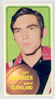 1970 Topps Basketball 153 Loy Peterson Cleveland Cavaliers Near-Mint to Mint