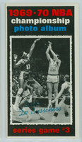1970 Topps Basketball 170 Finals Game 3 Excellent to Excellent Plus