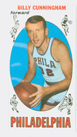 1969 Topps Basketball 40 Billy Cunningham ROOKIE Philadelphia 76ers Excellent to Mint